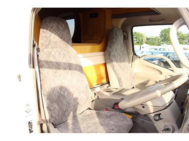 2010 Toyota Camroad motor home cabin interior 2