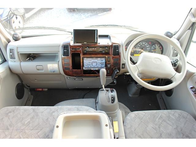 2010 Toyota Camroad motor home cabin interior