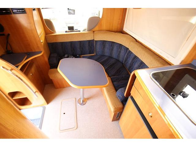 2010 Toyota Camroad motor home dining table