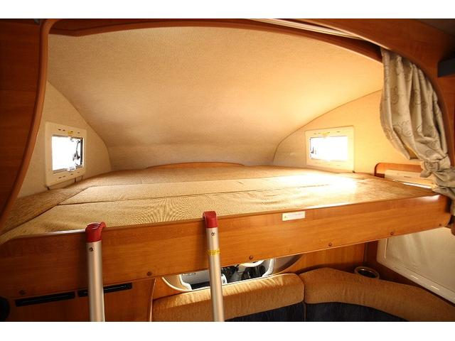 2010 Toyota Camroad motor home top double bed