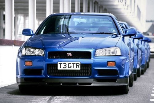 Imported R34 GTR