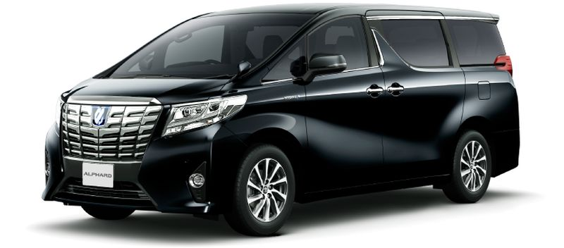 Toyota Alphard and Vellfire 30 Series Alphard Black 202