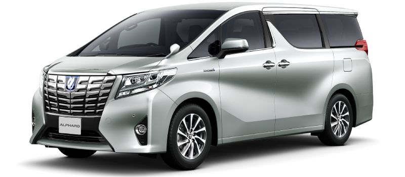 Toyota Alphard Hybrid 30 Series and Vellfire 30 Series Silver metallic 1F7 small