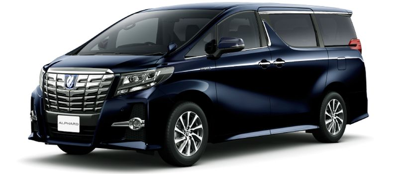 Toyota Alphard and Vellfire 30 Series Alphard Sparkling Black Pearl Crystal Shine 220