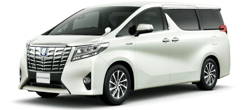 Toyota Alphard Hybrid 30 Series and Vellfire 30 Series White Pearl Crystal Shine 070 small