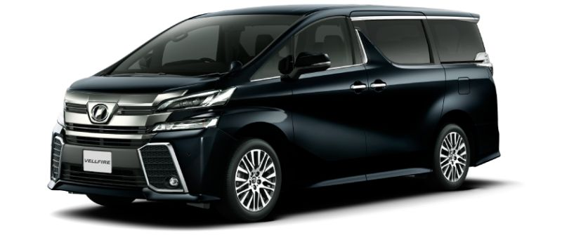Toyota Alphard Hybrid 30 Series and Vellfire Hybrid 30 Series colour option Black 202