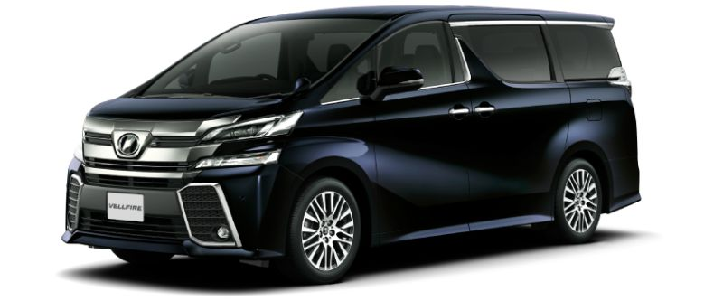 Toyota Alphard Hybrid 30 Series and Vellfire Hybrid 30 Series colour option Sparkling Black Pearl Crystal Shine 220