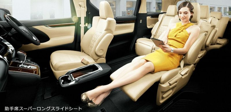 Toyota Alphard and Vellfire 30 Series interior 2