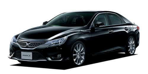 Toyota Mark X import black front