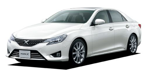 Toyota Mark X import white