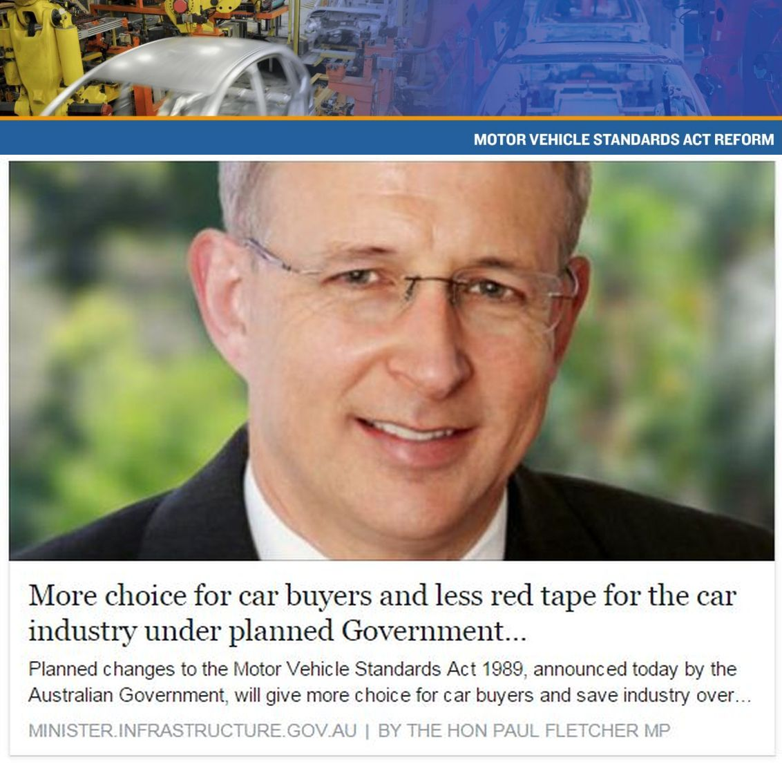 Australian Vehicle Import Regulation Changes