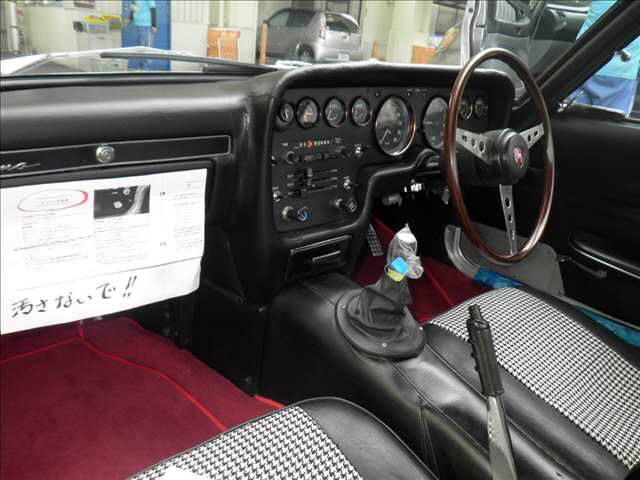 1968 Mazda Cosmo Sports L10A coupe auction interior