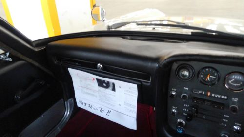 1968 Mazda Cosmo Sports L10A coupe dash