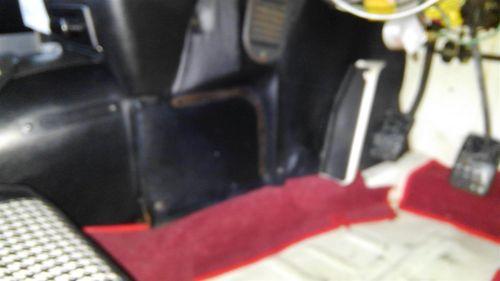 1968 Mazda Cosmo Sports L10A coupe driver carpet