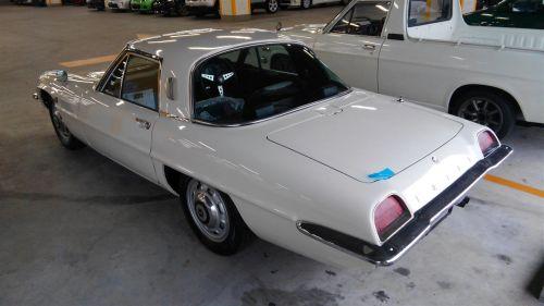 1968 Mazda Cosmo Sports L10A coupe left rear
