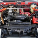 1987 Toyota Sprinter GT APEX Trueno engine
