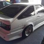 1987 Toyota Sprinter GT APEX Trueno rear