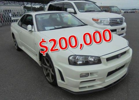 2002 NISSAN SKYLINE GTR VSpec2 NUR With Sold Price