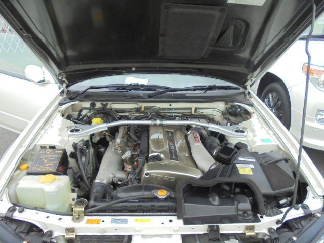 2002 Nissan Skyline R34 GT-R VSPEC2 NUR engine bay