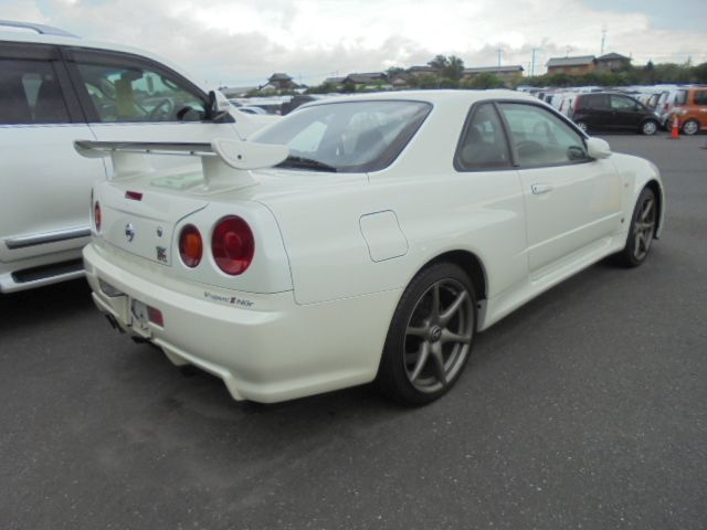 2002 Nissan Skyline R34 GT-R VSPEC2 NUR right rear
