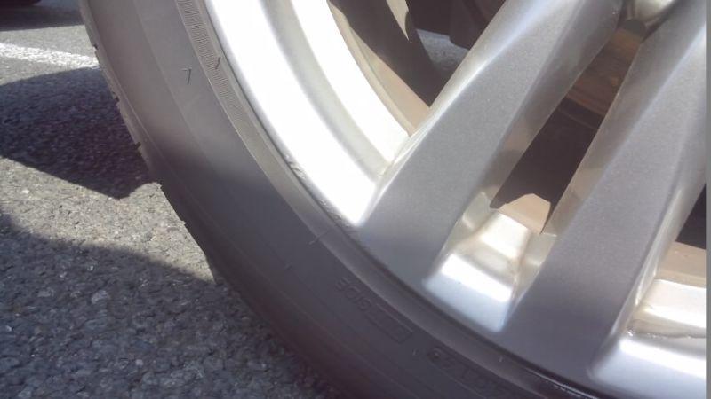 2010 Nissan Elgrand E52 4WD wheel scrape