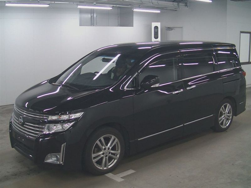 2011 Nissan Elgrand E52 Highway Star Premium 350 4WD left front