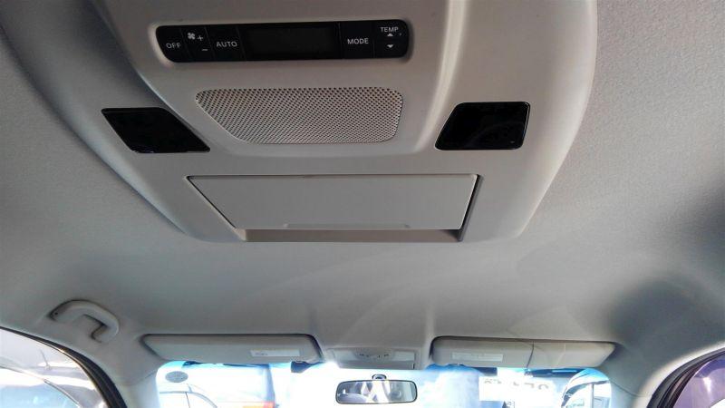 2011 Nissan Elgrand Highway Star Premium 350 4WD black ceiling