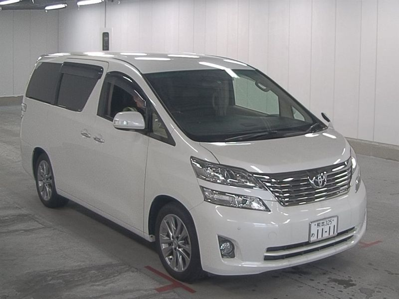 2011 Toyota Vellfire Welcab Sloper wheelchair disability vehicle 2.4V auction front right