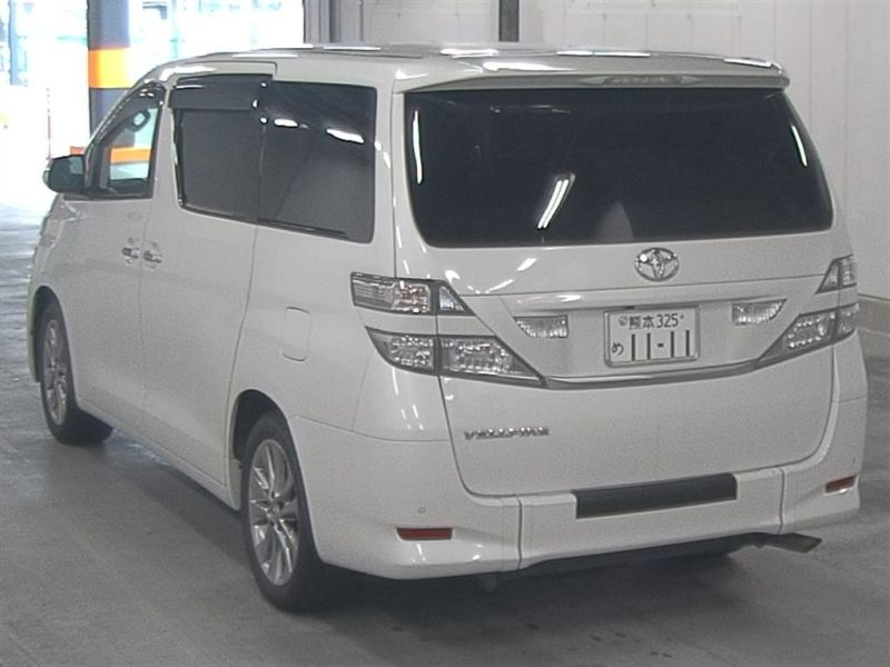 2011 Toyota Vellfire Welcab Sloper wheelchair disability vehicle 2.4V auction left rear