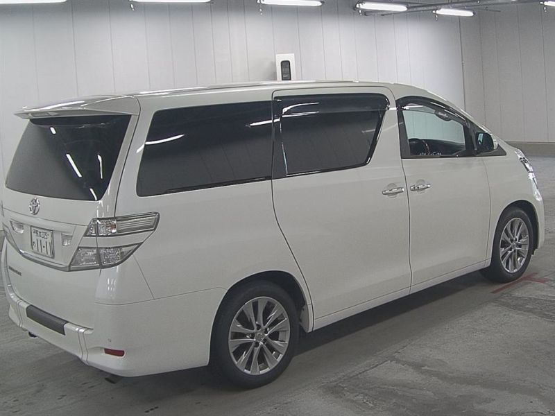 2011 Toyota Vellfire Welcab Sloper wheelchair disability vehicle 2.4V auction right rear