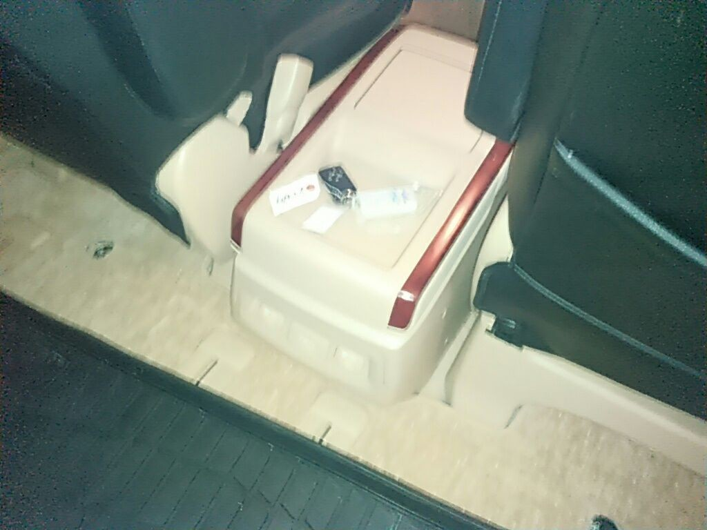 2011 Toyota Vellfire Welcab Sloper wheelchair disability vehicle 2.4V centre console