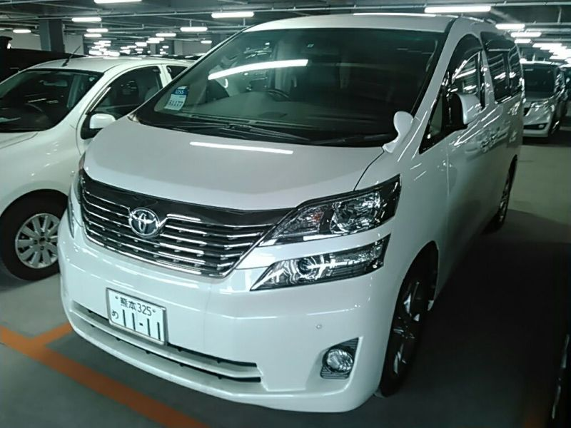 2011 Toyota Vellfire Welcab Sloper wheelchair disability