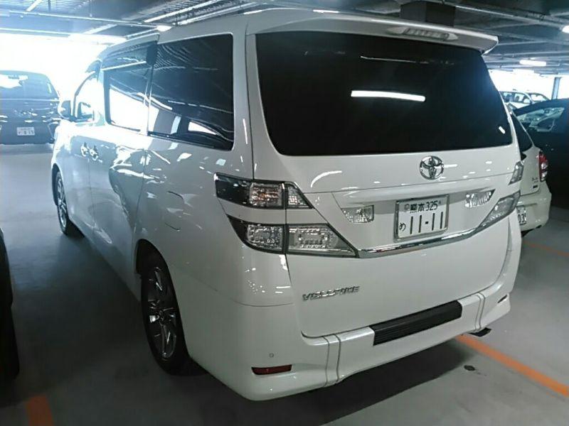 2011 Toyota Vellfire Welcab Sloper wheelchair disability vehicle 2.4V left rear