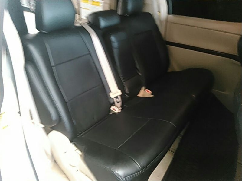2011 Toyota Vellfire Welcab Sloper wheelchair disability vehicle 2.4V rear seat 3