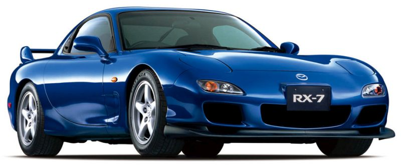 Mazda RX-7 Import Bathurst blue