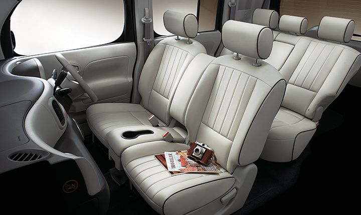 Nissan Cube Z12 AUTECH AXIS leather interior