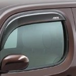 Nissan Cube Z12 AUTECH AXIS window strip emblem