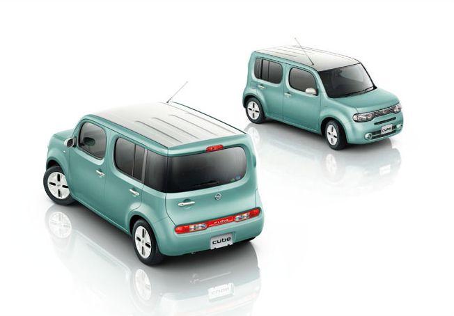 Nissan Cube Z12 front rear