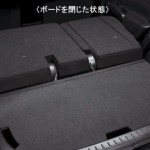 Nissan Cube Z12 luggage underboard closed
