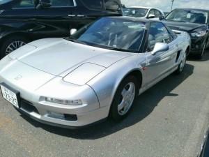 1992 Honda NSX coupe left front