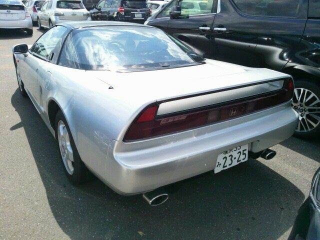 1992 Honda NSX coupe left rear