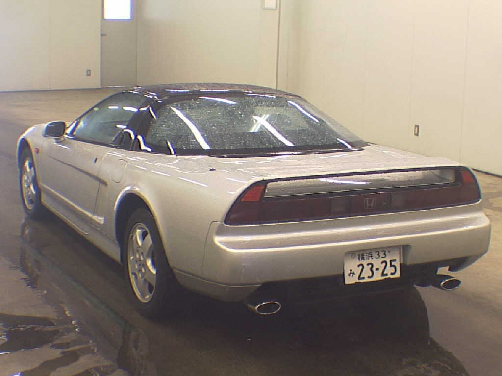 1992 Honda NSX coupe rear