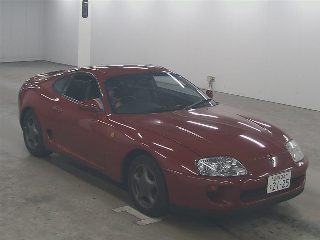 1994 Toyota Supra GZ twin turbo auction 2 front