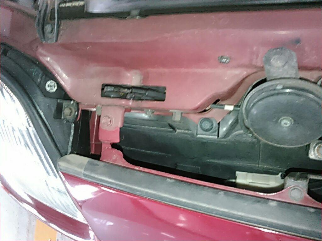 1994 Toyota Supra GZ twin turbo rad support 4
