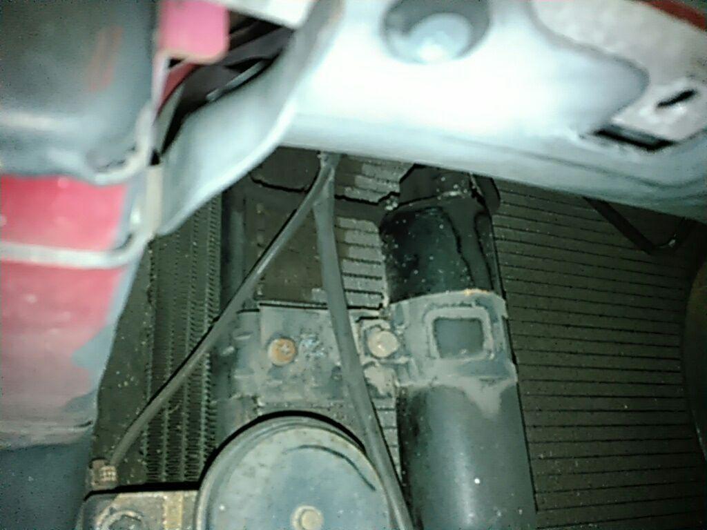 1994 Toyota Supra GZ twin turbo rad support 7