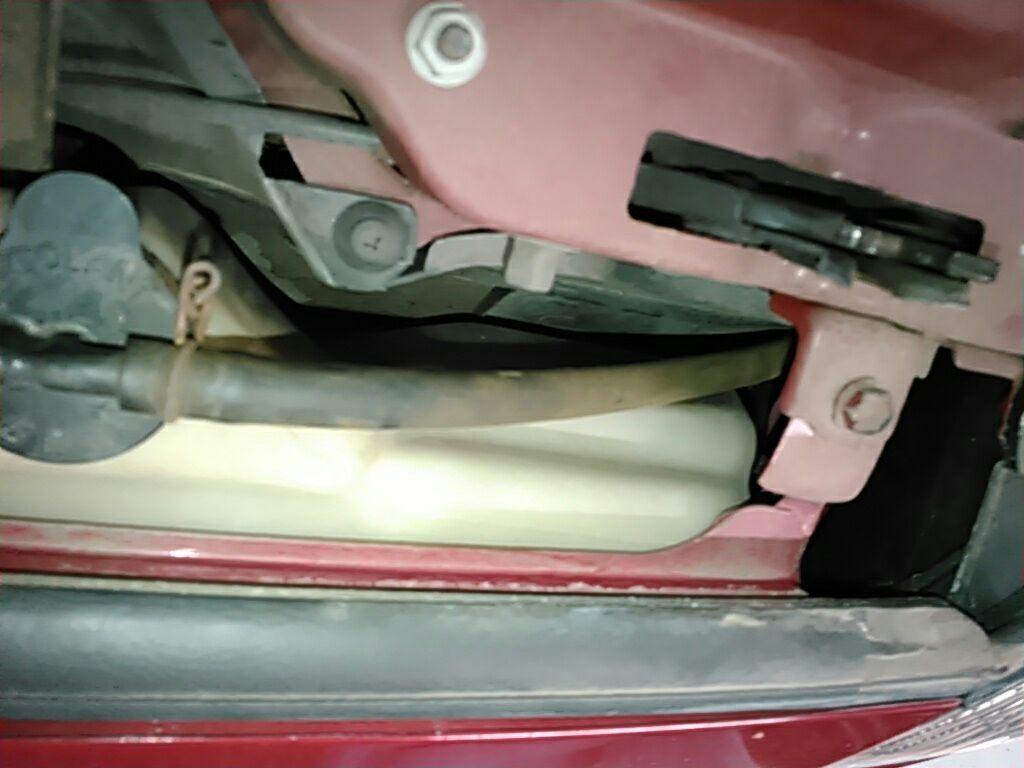 1994 Toyota Supra GZ twin turbo radiator support 3