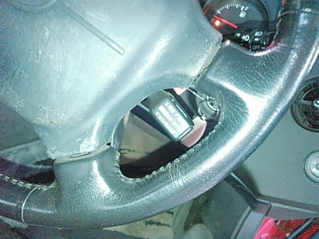 1994 Toyota Supra GZ twin turbo steering wheel 4