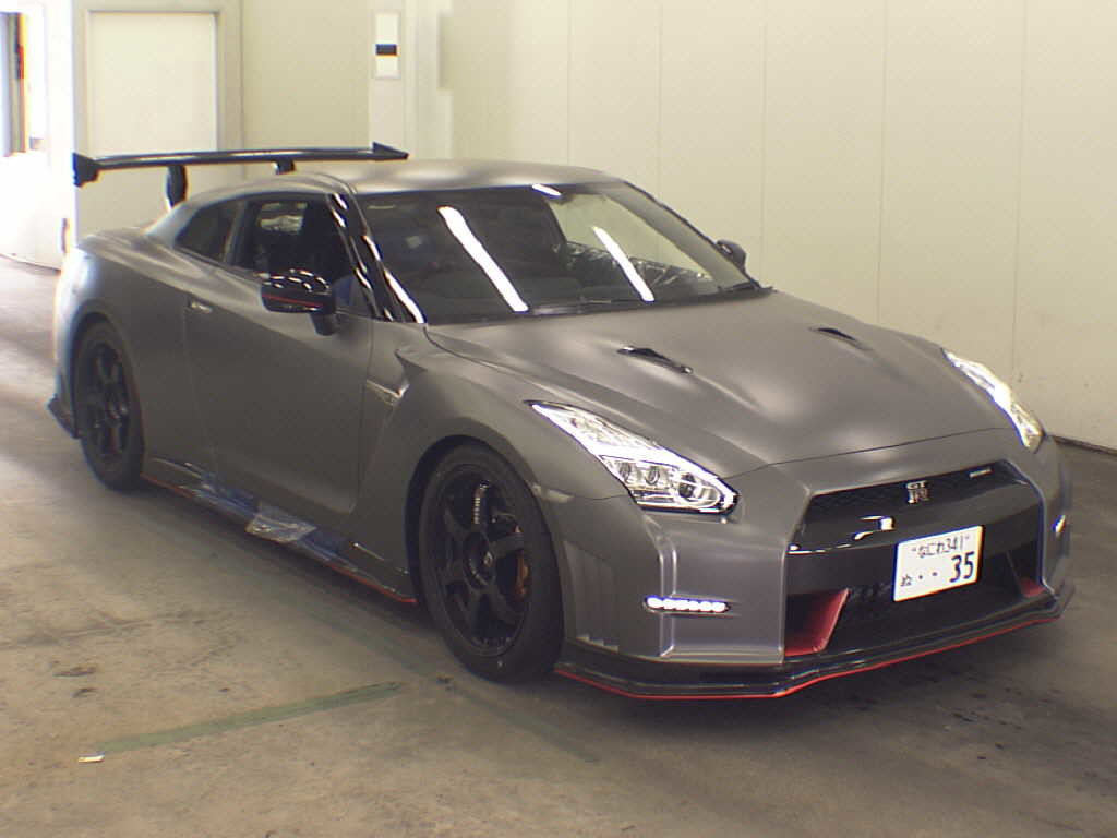 2016 Nissan GT-R NISMO N-Attack Package front