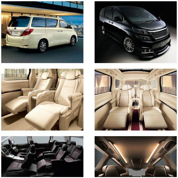 Toyota Alphard Hybrid images 2