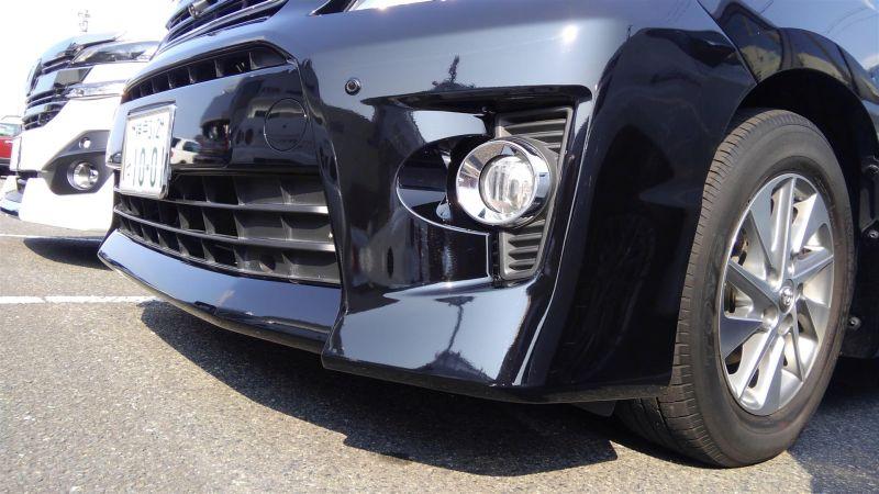 2012 Toyota Vellfire Hybrid ZR front bumper 2